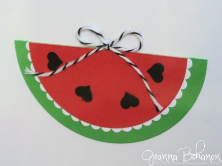 #TGIFC64 Stampin' Up! Summer Sunshine home decor Jeanna Bohanon 2
