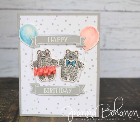 #TGIFC67 Bear Hugs by Stampin' Up! Jeanna Bohanon 1