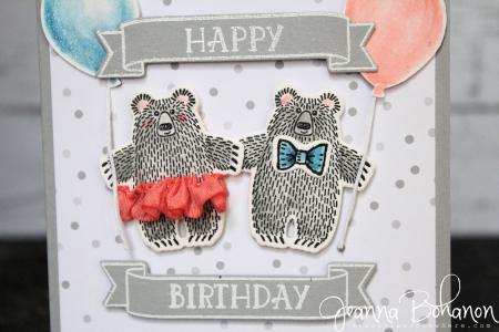 #TGIFC67 Bear Hugs by Stampin' Up! Jeanna Bohanon 2