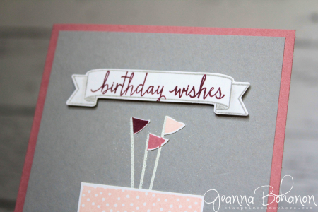 #TGIFC71 Stampin' Up! Build a Birthday Jeanna Bohanon 3