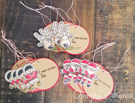Fancy Friday Sept 16 Stampin' Up! Cookie Cutter Christmas Tags Jeanna Bohanon 1
