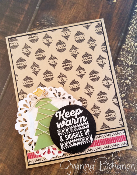 #TGIF81 Stampin' Up! Wrapped in Warmth Jeanna