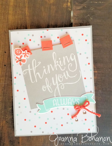 PCC#220 Stampin' Up! Time of Year by Jeanna Bohanon