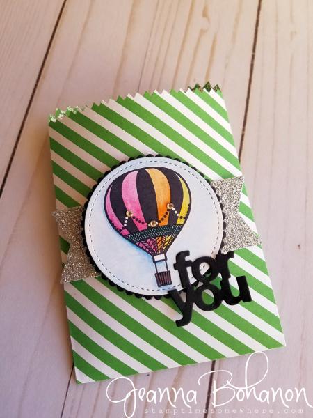 OSAT Blog Hop Stampin' Up! Lift Me Up! Jeanna Bohanon 1