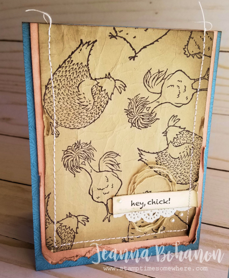 PCC233 Stampin' Up! Hey, Chick by Jeanna Bohanon