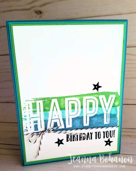 WCBH3-1 Stampin' Up! Happy Celebrations by Jeanna Bohanon stepped up