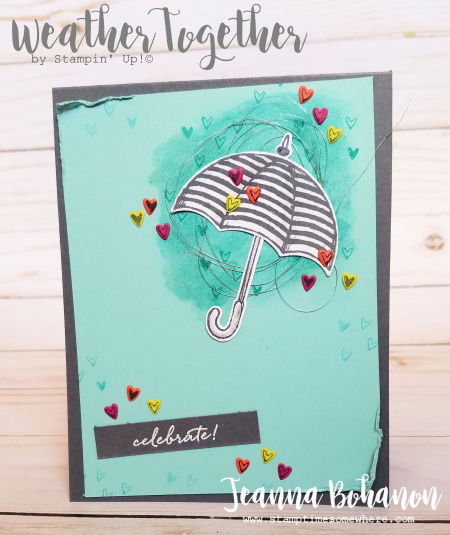 PCC244 Stampin' Up! Weather Together by Jeanna Bohanon