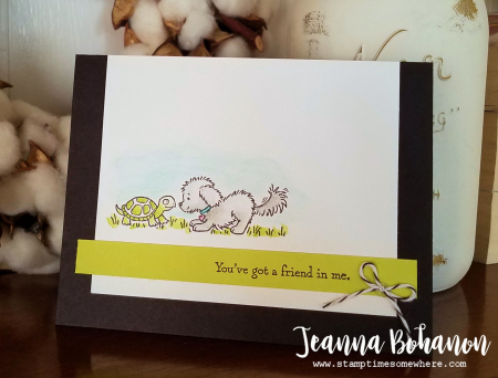Stampin' Up! Bella & Friends #TGIFC111 by Jeanna Bohanon 1