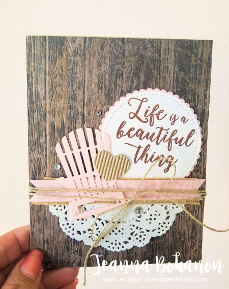 #TGIFC114 Fancy Friday July 17 Stampin' Up! Colorful Seasons by Jeanna Bohanon