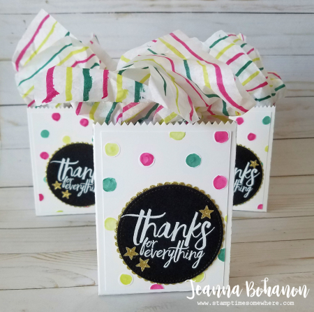 #tgifc115 stampin' up! All things thanks teacher gift by Jeanna Bohanon 3