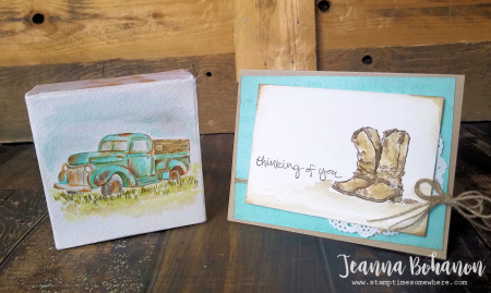 OSAT Blog Hop Stampin' Up! Country Livin' Jeanna Bohanon