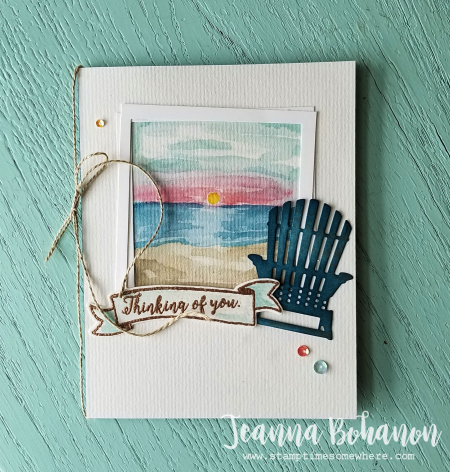 PCC252 Stampin' Up! Colorful Seasons by Jeanna Bohanon