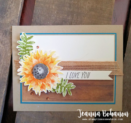 Pcc258 Stampin' Up! Painted Harvest by Jeanna Bohanon