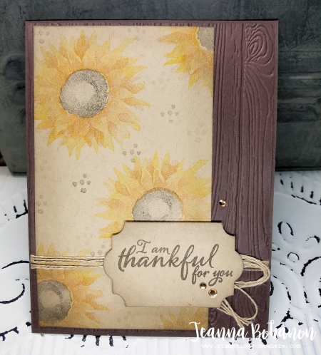 PCC269 Stampin Up! Painted Harvest by Jeanna Bohanon