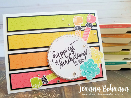 #TGIFC137 Stampin' Up! Picture Perfect Birthday by Jeanna Bohanon