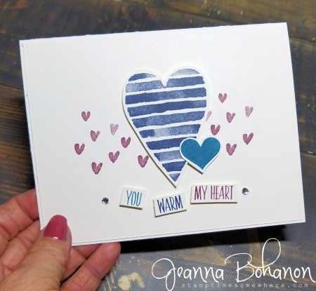 #tgifc141 Stampin' Up! Heart Happiness by Jeanna Bohanon