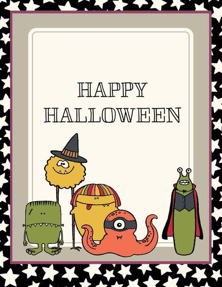 We Create Project Life Halloween Card Jeanna Bohanon
