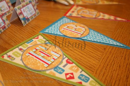 On the Go party ensemble banner MDS Jeanna Bohanon Stamp Time Somewhere