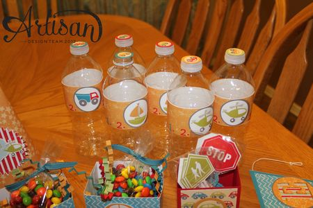 On the Go party ensemble water bottles MDS Jeanna Bohanon Stamp Time Somewhere