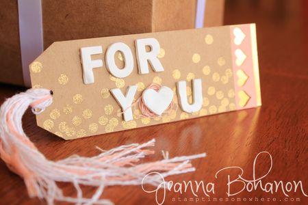 Fancy Friday Blog Hop Stampin' Up! Jeanna Bohanon December 2014 Tags 2