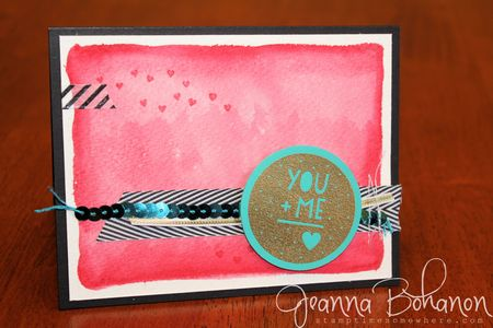 Stampin' Up! You and Me Occasions 14 Catalog Blog Hop Jeanna Bohanon 1