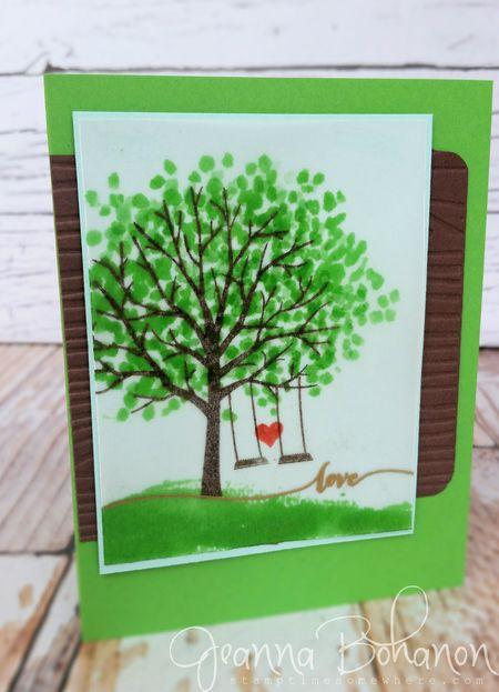 #TGIFC08 Jeanna Bohanon Sheltering Tree