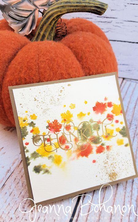 #TGIFC 26 Perpetual Calendar Stampin' Up! Jeanna Bohanon 1