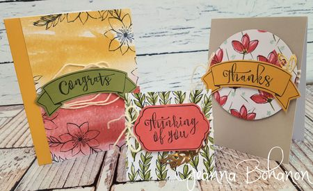 Blissful Bouquet Stampin' Up! Jeanna Bohanon 1