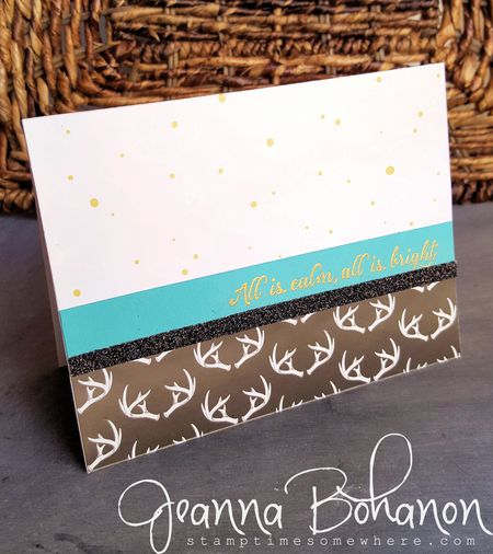 #TGIFC29 Card Sketch Stampin Up! Jeanna Bohanon