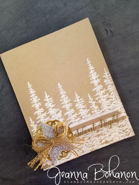 #TGIFC30 White Christmas Stampin' Up! Jeanna Bohanon 2