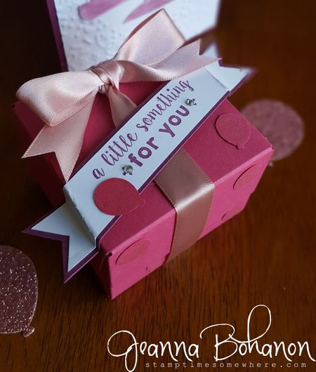 #TGIFC41 Jeanna Bohanon Stampin' Up! birthday 2