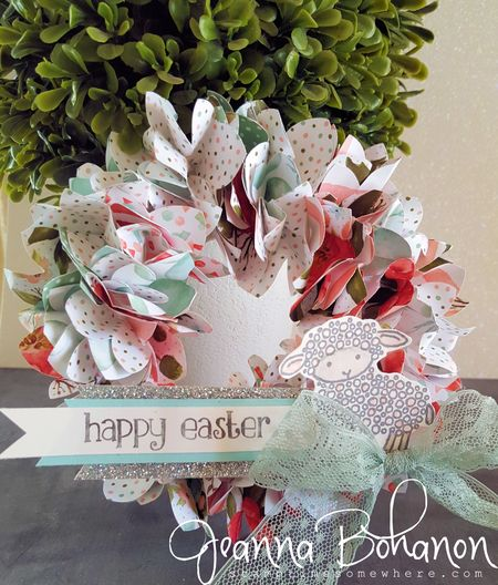 March 2016 OSAT Blog Hop Stampin' Up! Happy Easter Jeanna Bohanon 1