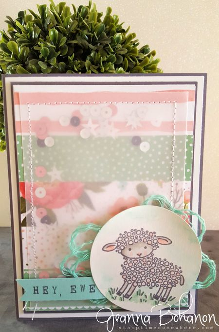 March 2016 OSAT Blog Hop Stampin' Up! Happy Easter Jeanna Bohanon 2