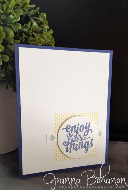 Stampin' Up! Enjoy the Little Things Jeanna Bohanon 1