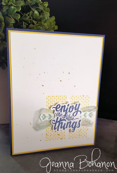 Stampin' Up! Enjoy the Little Things Jeanna Bohanon 2