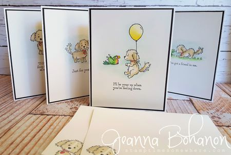 Stampin' Up! Bella and Friends set Jeanna Bohanon 1