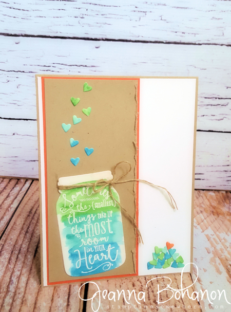 Stamp Ink Paper Layering 53 Love Stampin' Up! by Jeanna Bohanon
