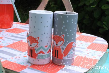 Stampin' Up! Foxy Friends Picnic Basket by Jeanna Bohanon 12
