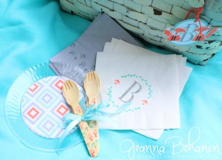 Stampin' Up! Foxy Friends Picnic Basket by Jeanna Bohanon 10