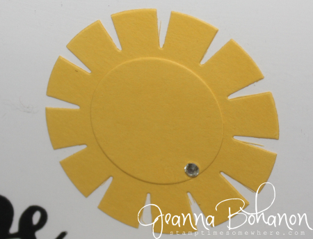#TGIFC64 Stampin' Up! Summer Sunshine home decor Jeanna Bohanon 3
