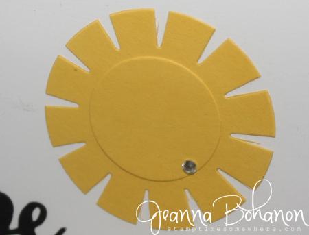 #TGIFC64 Stampin' Up! Summer Sunshine home decor Jeanna Bohanon 3