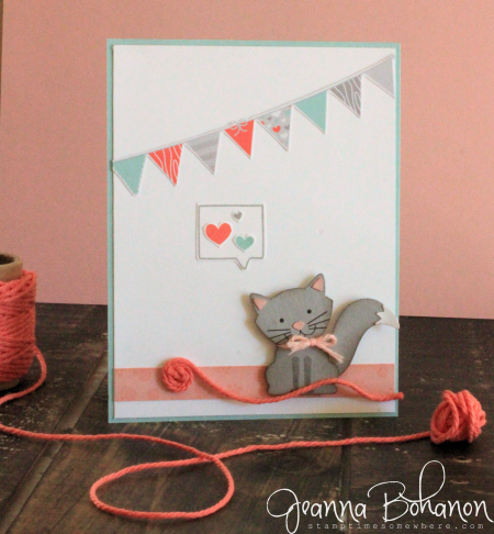 Foxy Friends by Stampin' Up!Fancy Friday July Jeanna Bohanon