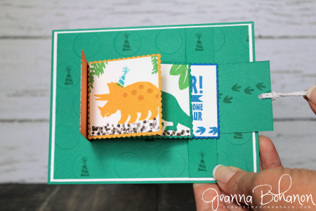 Stampin' Up! No Bones About It Jeanna Bohanon WCBH 8