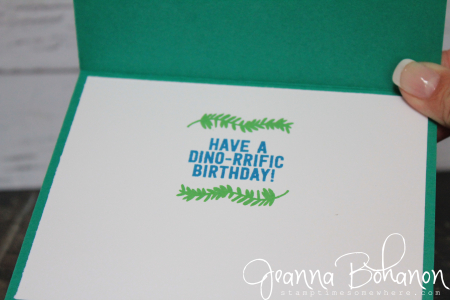 Stampin' Up! No Bones About It Jeanna Bohanon WCBH 11