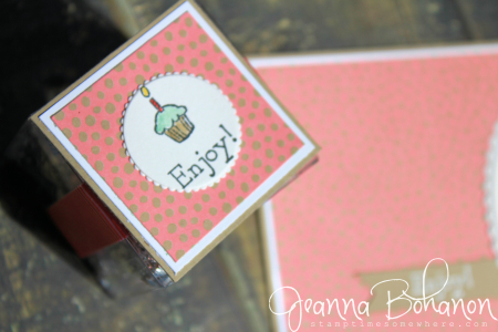 OSAT Aug Stampin' Up! Bella and Friends birthday card Jeanna Bohanon 3