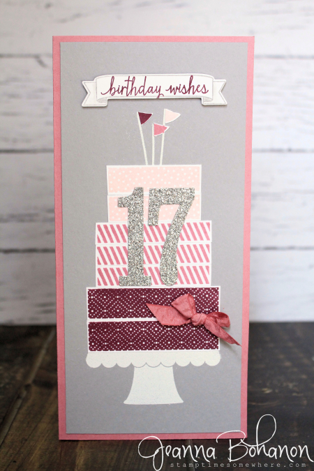 #TGIFC71 Stampin' Up! Build a Birthday Jeanna Bohanon 1
