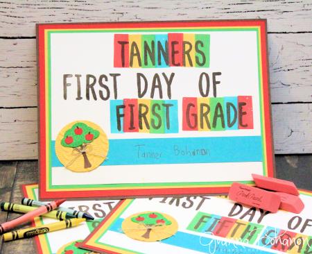 #TGIFC69 Back to School Stampin' Up! Layering Alphabet Jeanna Bohanon 1