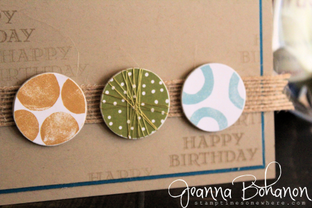 #TGIFC75 Stampin' Up! Guy Greetings Jeanna Bohanon 2