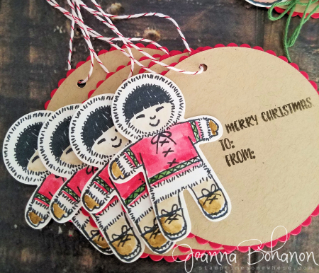 Fancy Friday Sept 16 Stampin' Up! Cookie Cutter Christmas Tags Jeanna Bohanon 4