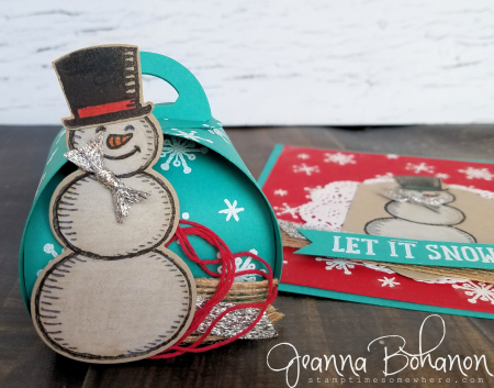 OSAT Blog Hop Stampin' Up! Snow Place Jeanna Bohanon 3